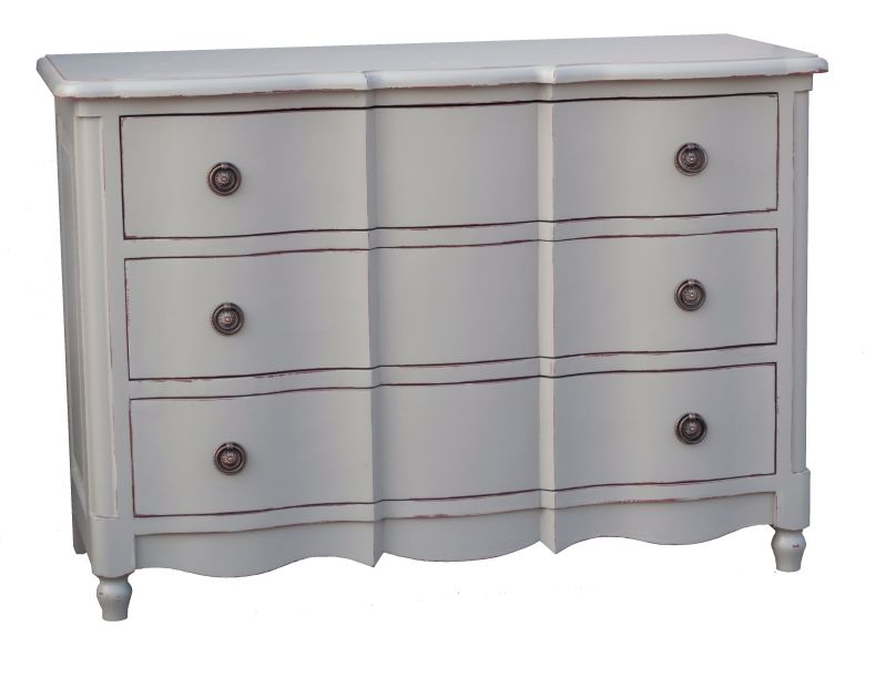 Commode galb e en pin massif - Commode en pin massif ...
