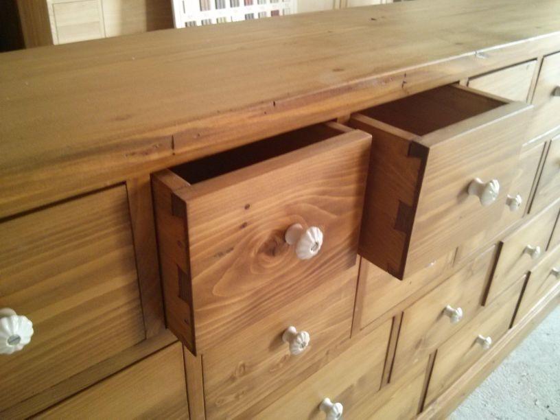 commode mercerie 22 tiroirs. Black Bedroom Furniture Sets. Home Design Ideas
