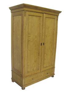 armoire d montable en pin massif. Black Bedroom Furniture Sets. Home Design Ideas