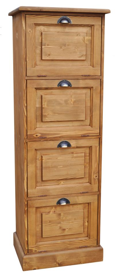 meuble classeur en pin massif. Black Bedroom Furniture Sets. Home Design Ideas