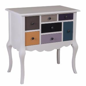 Commode en pin massif