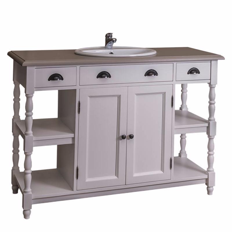 meuble de salle de bain en pin massif. Black Bedroom Furniture Sets. Home Design Ideas